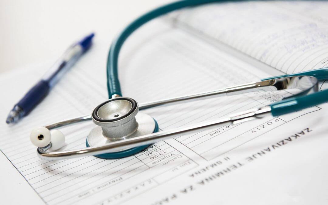 stethoscope doctors visit
